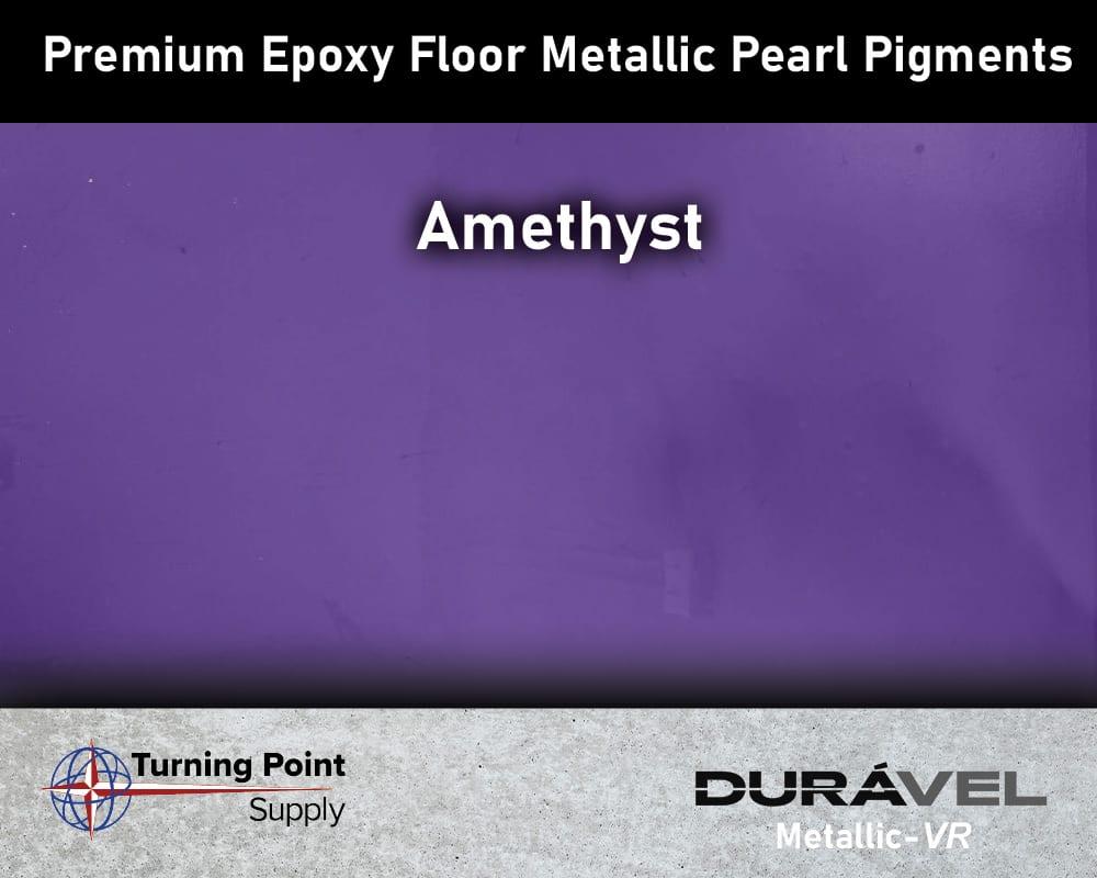 Amethyst Exclusive Epoxy Floor Metallic Mica Colors - Premium Pear Pigments 20 Options