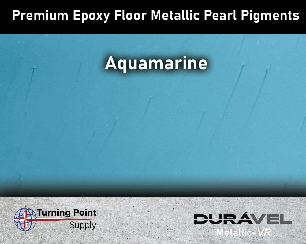 Aquamarine Exclusive Epoxy Floor Metallic Mica Colors - Premium Pear Pigments 20 Options