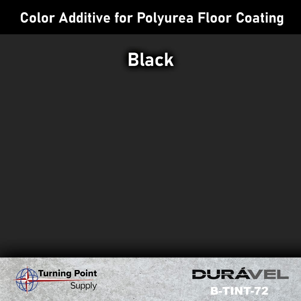 Black Color Additive for Polyurea Floor Coating Base-IC by Durav