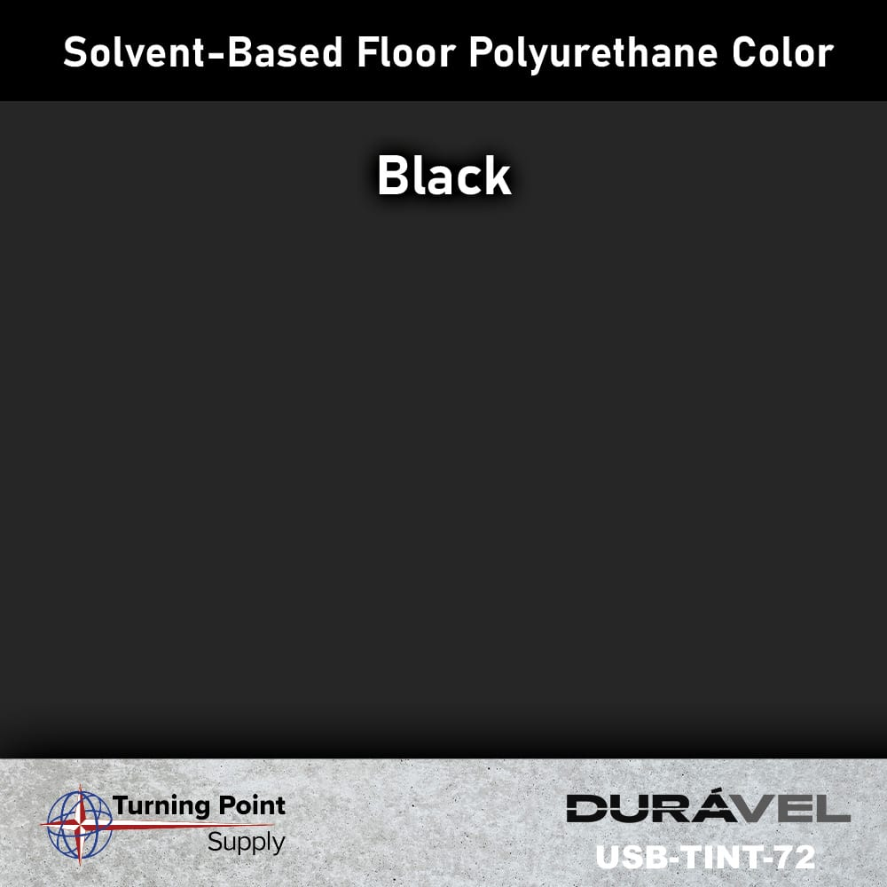 Black UV Stable Solvent-Based Floor Polyurethane Color Additive – USB-TINT by Duravel Products