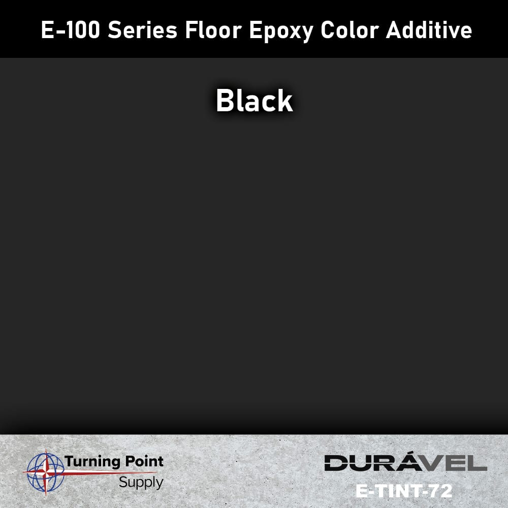 Black Floor Epoxy Color Additive Offered by Turning Point Supply
