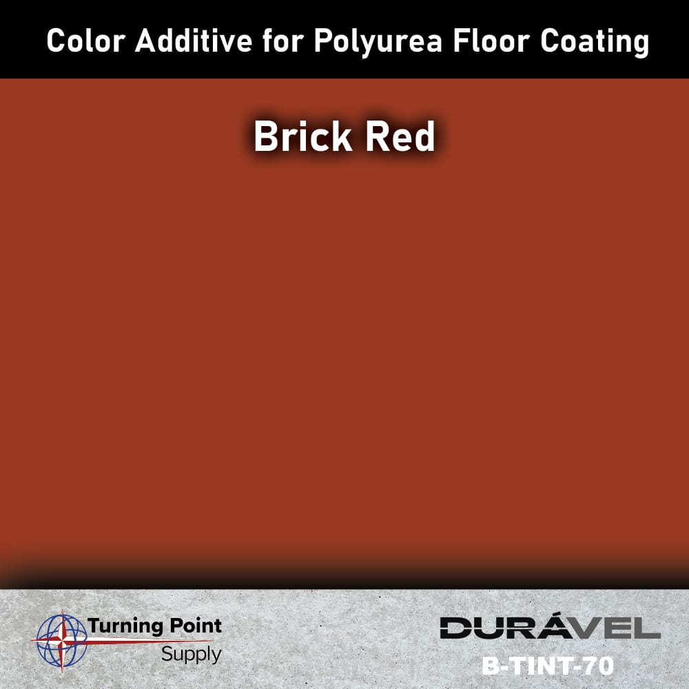 Brick Red Color Additive for Polyurea Floor Coating Base-IC by D
