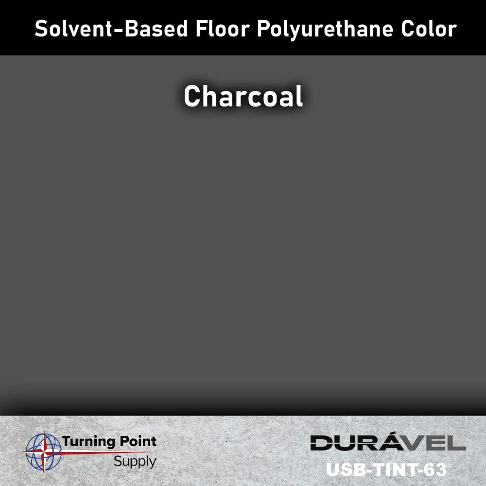 Charcoal UV Stable Solvent-Based Floor Polyurethane Color Additive – USB-TINT by Duravel Products