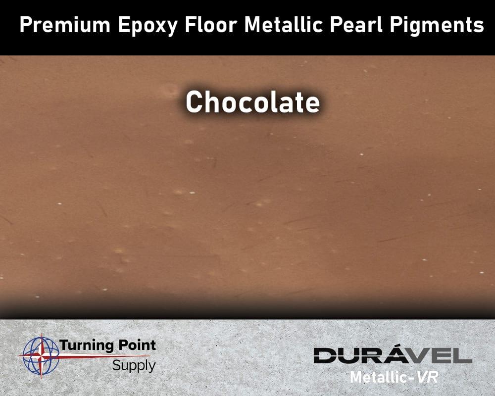 Chocolate Exclusive Epoxy Floor Metallic Mica Colors - Premium Pear Pigments 20 Options