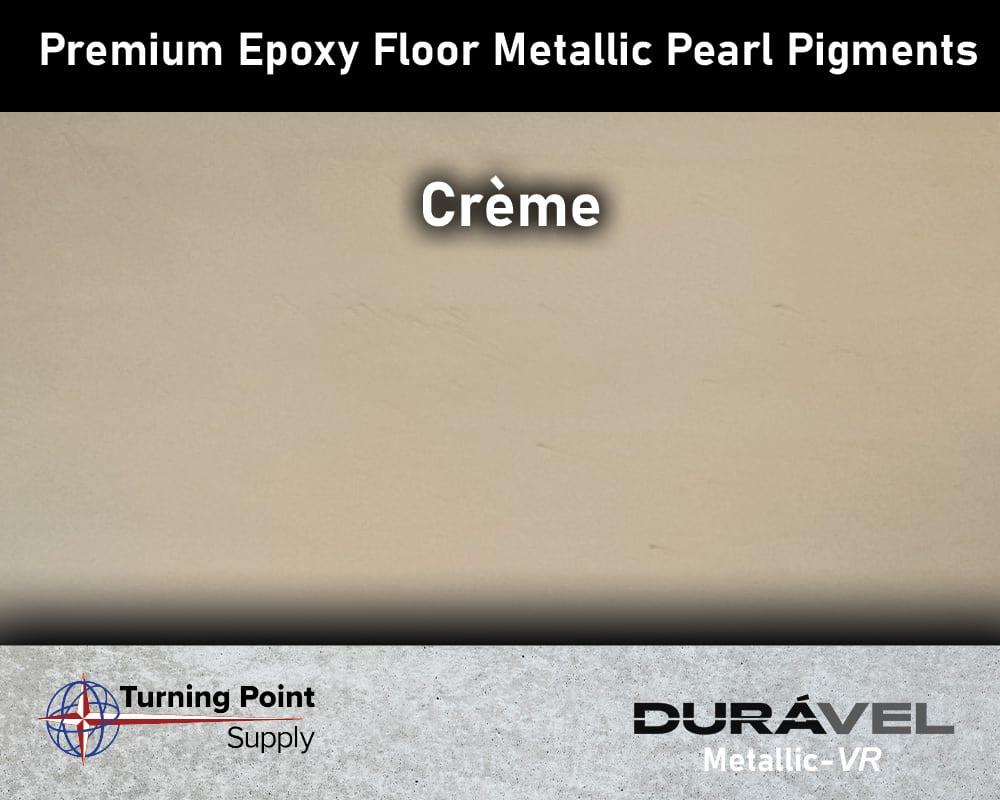 Crème Exclusive Epoxy Floor Metallic Mica Colors - Premium Pear Pigments 20 Options