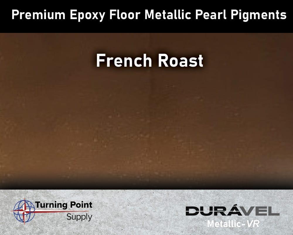 French Roast Exclusive Epoxy Floor Metallic Mica Colors - Premium Pear Pigments 20 Options