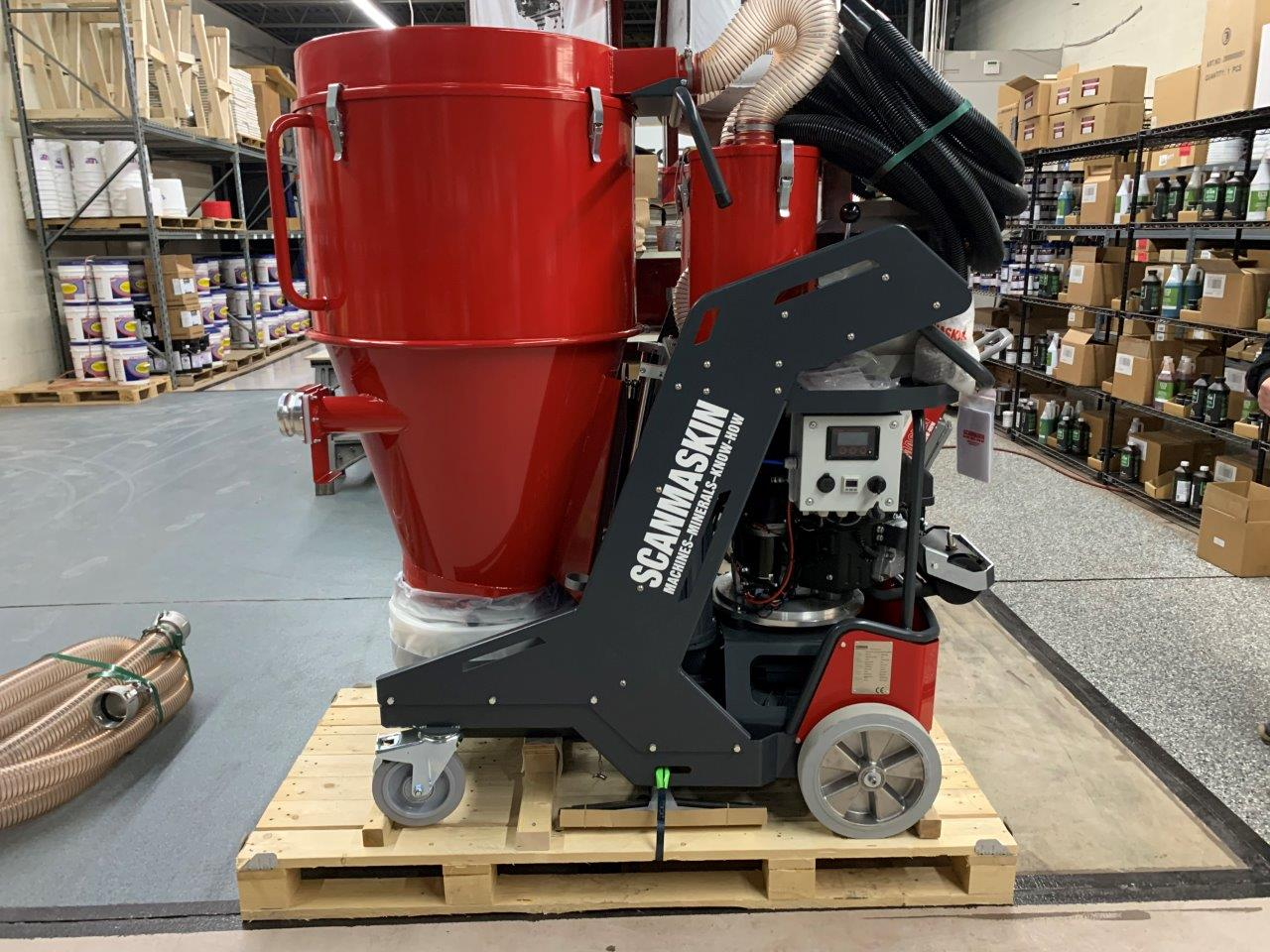 Propane Powered Industrial Dust Collector 9000 by Scanmaskin Large View