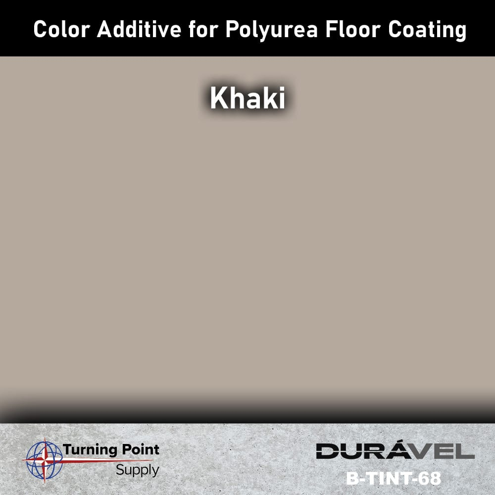 Khaki Color Additive for Polyurea Floor Coating Base-IC by Durav