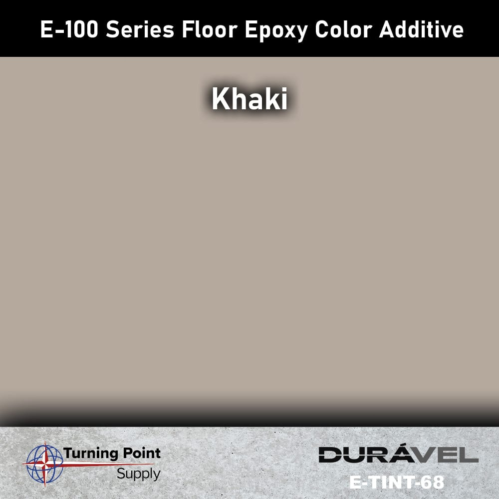 Khaki Floor Epoxy Color Additive Offered by Turning Point Supply