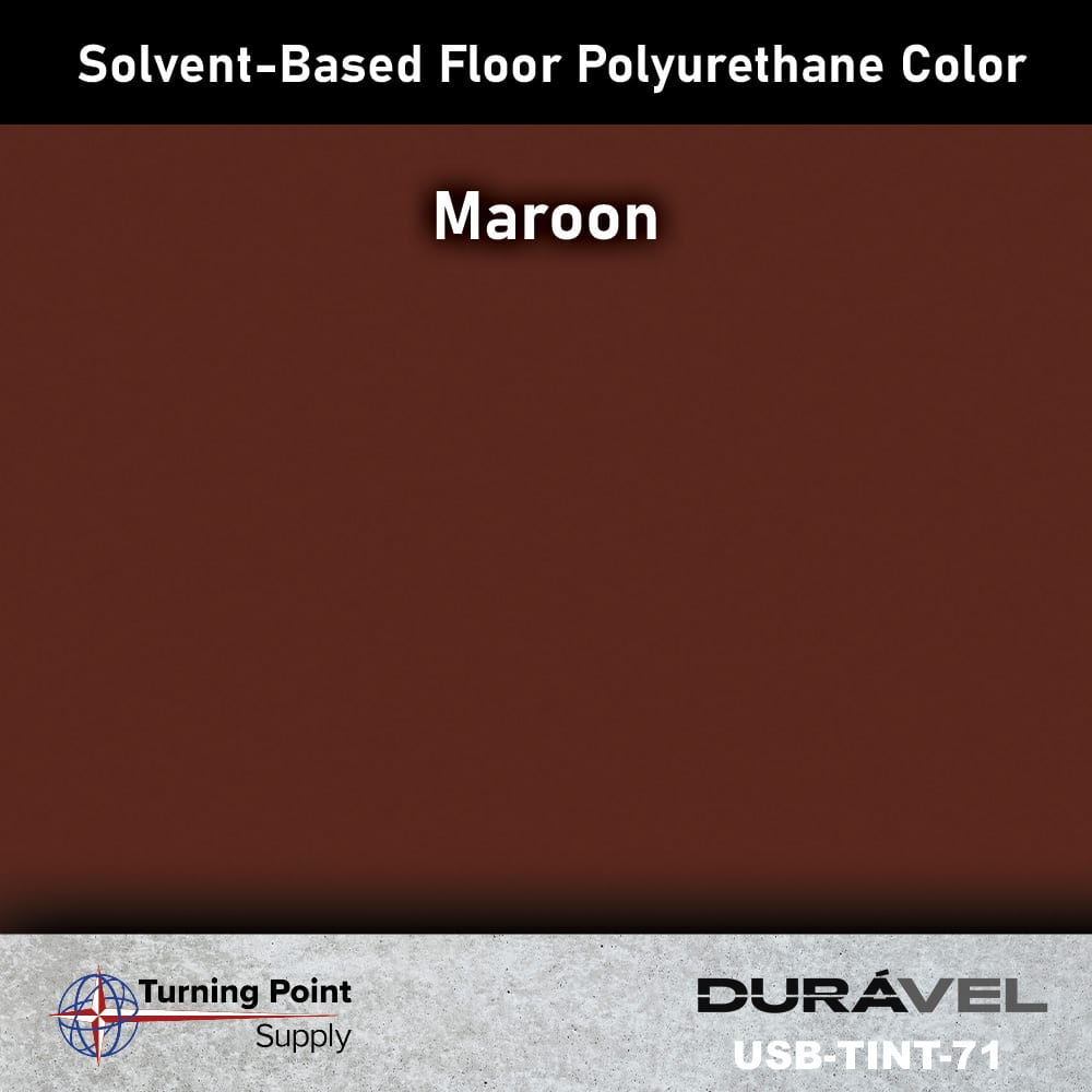 Maroon UV Stable Solvent-Based Floor Polyurethane Color Additive – USB-TINT by Duravel Products