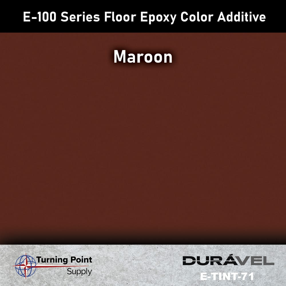 Maroon Floor Epoxy Color Additive Offered by Turning Point Suppl