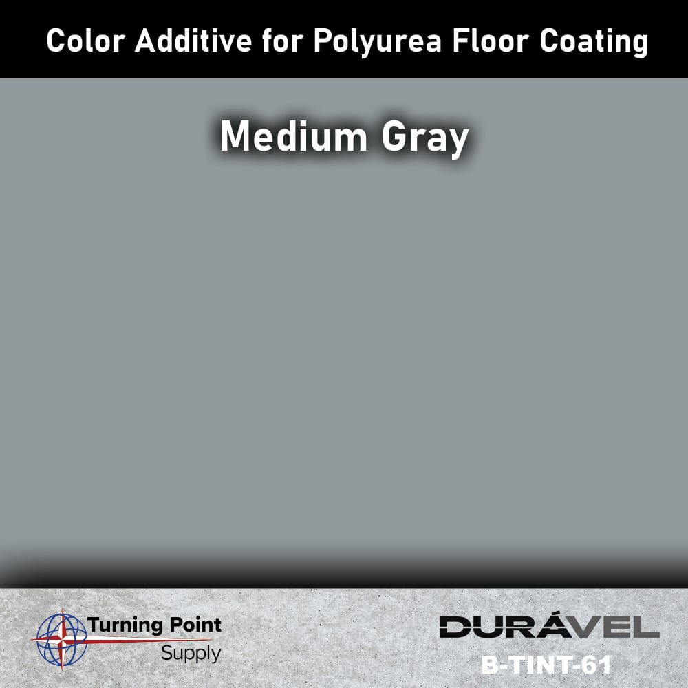 Medium Gray Color Additive for Polyurea Floor Coating Base-IC by