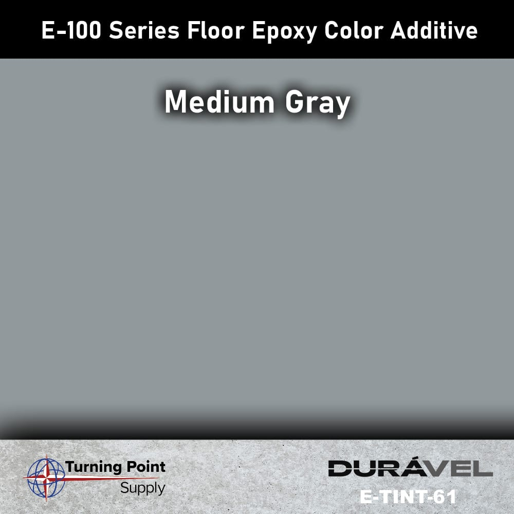 Medium Gray Floor Epoxy Color Additive Offered by Turning Point