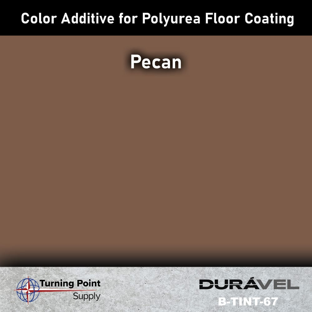 Pecan Color Additive for Polyurea Floor Coating Base-IC by Durav