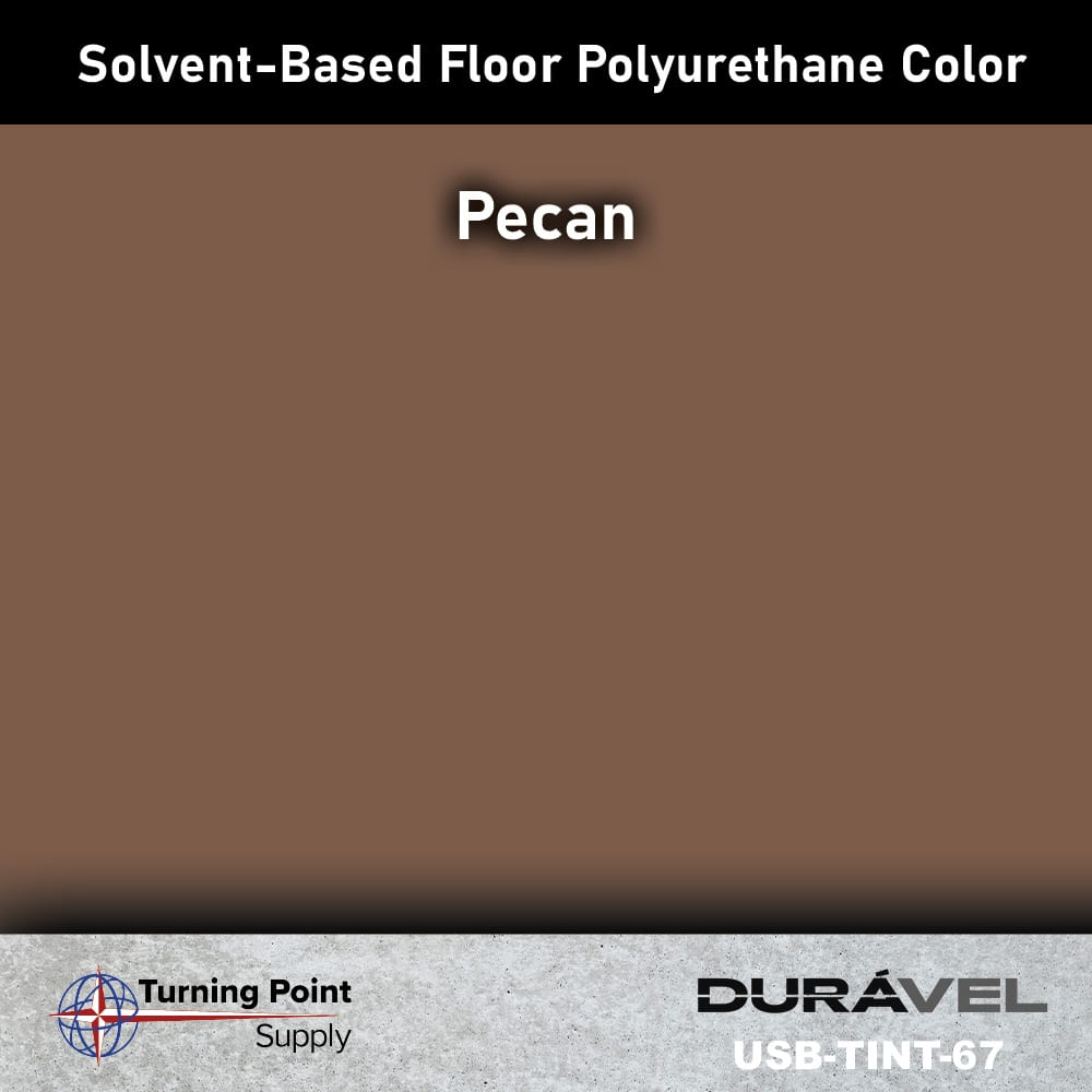 Pecan UV Stable Solvent-Based Floor Polyurethane Color Additive – USB-TINT by Duravel Products