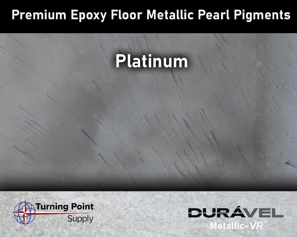 Platinum Exclusive Epoxy Floor Metallic Mica Colors - Premium Pear Pigments 20 Options