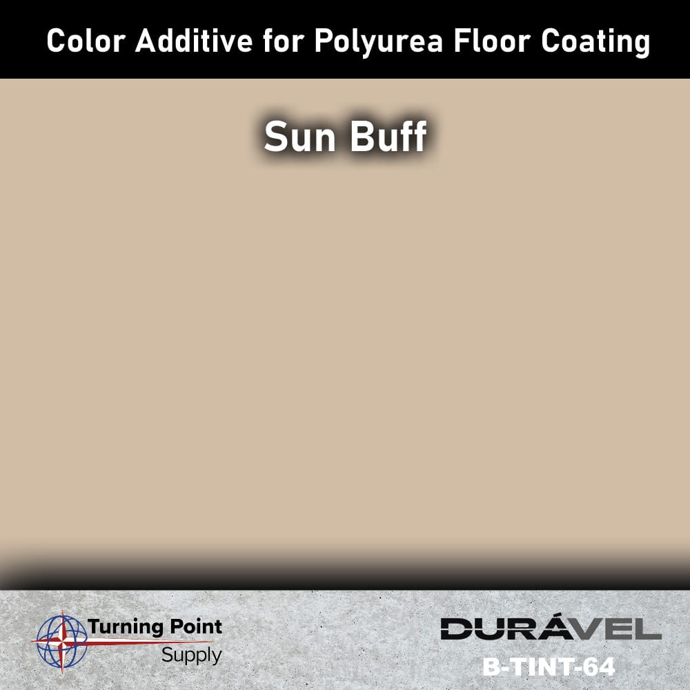 Sun Buff Color Additive for Polyurea Floor Coating Base-IC by Du