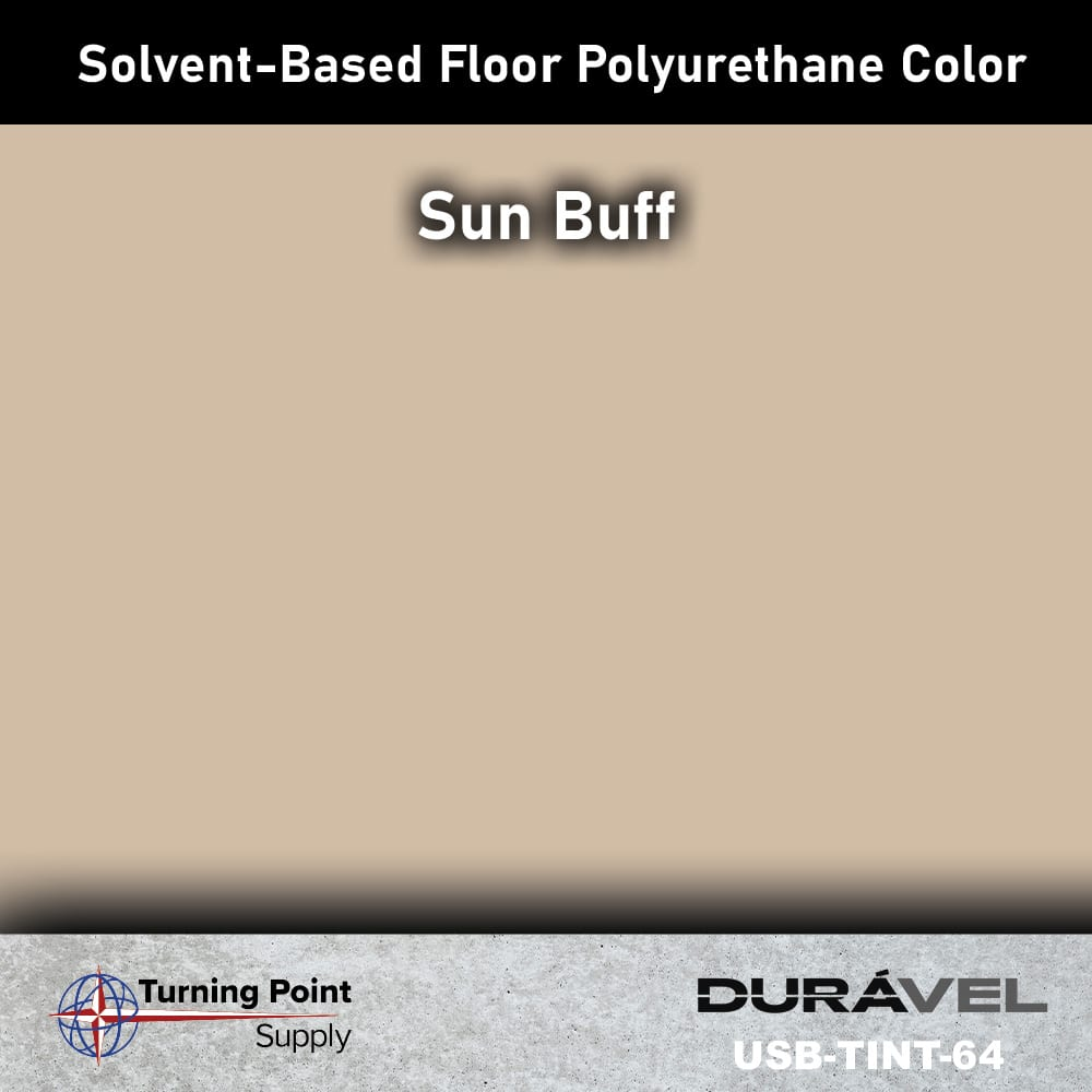 Sun Buff UV Stable Solvent-Based Floor Polyurethane Color Additive – USB-TINT by Duravel Products