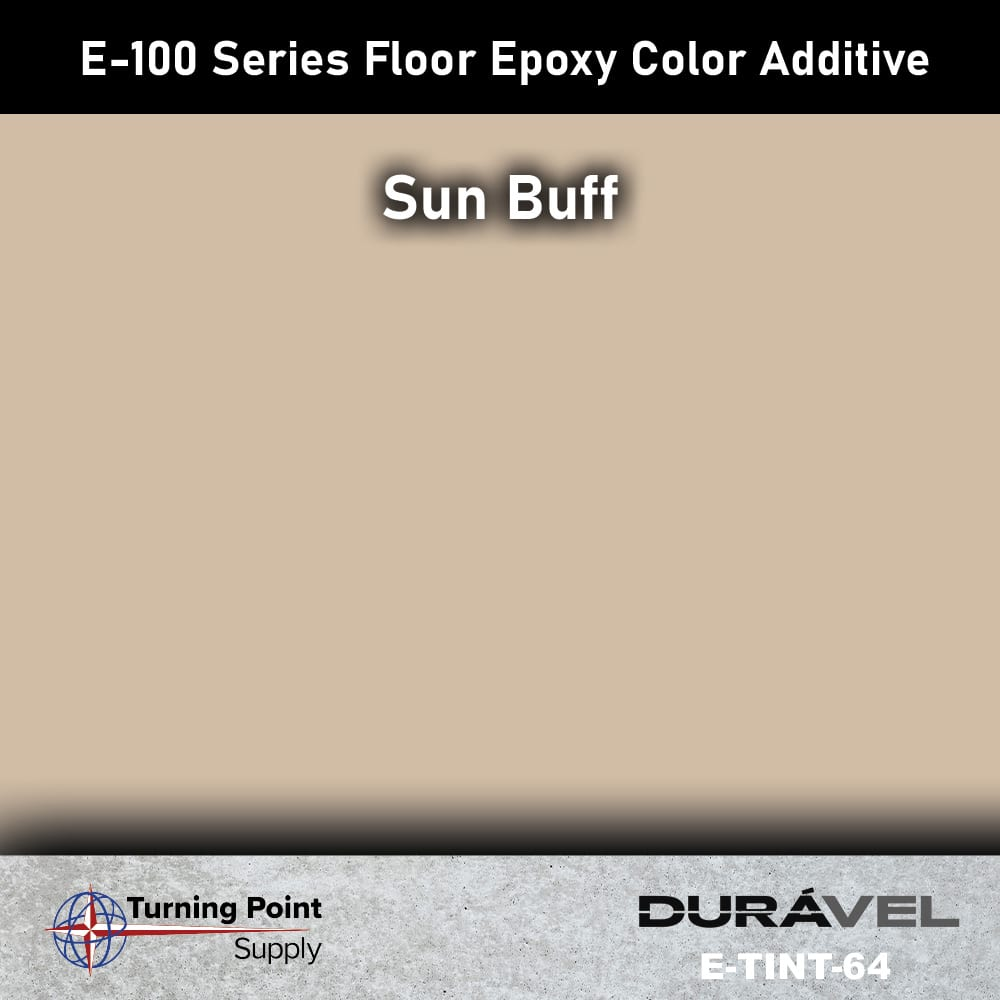 Sun Buff Floor Epoxy Color Additive Offered by Turning Point Sup
