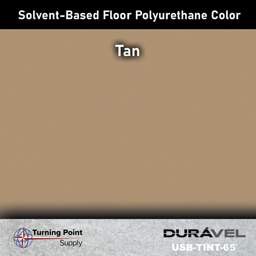 Tan UV Stable Solvent-Based Floor Polyurethane Color Additive – USB-TINT by Duravel Products