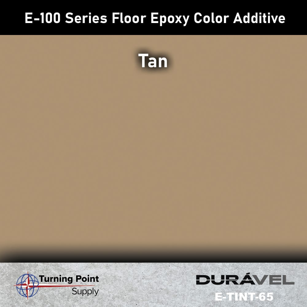 Tan Floor Epoxy Color Additive Offered by Turning Point Supply -