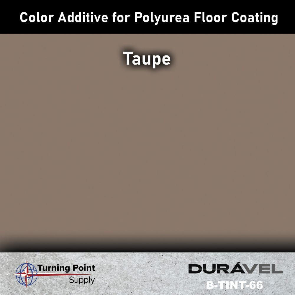 Taupe Color Additive for Polyurea Floor Coating Base-IC by Durav