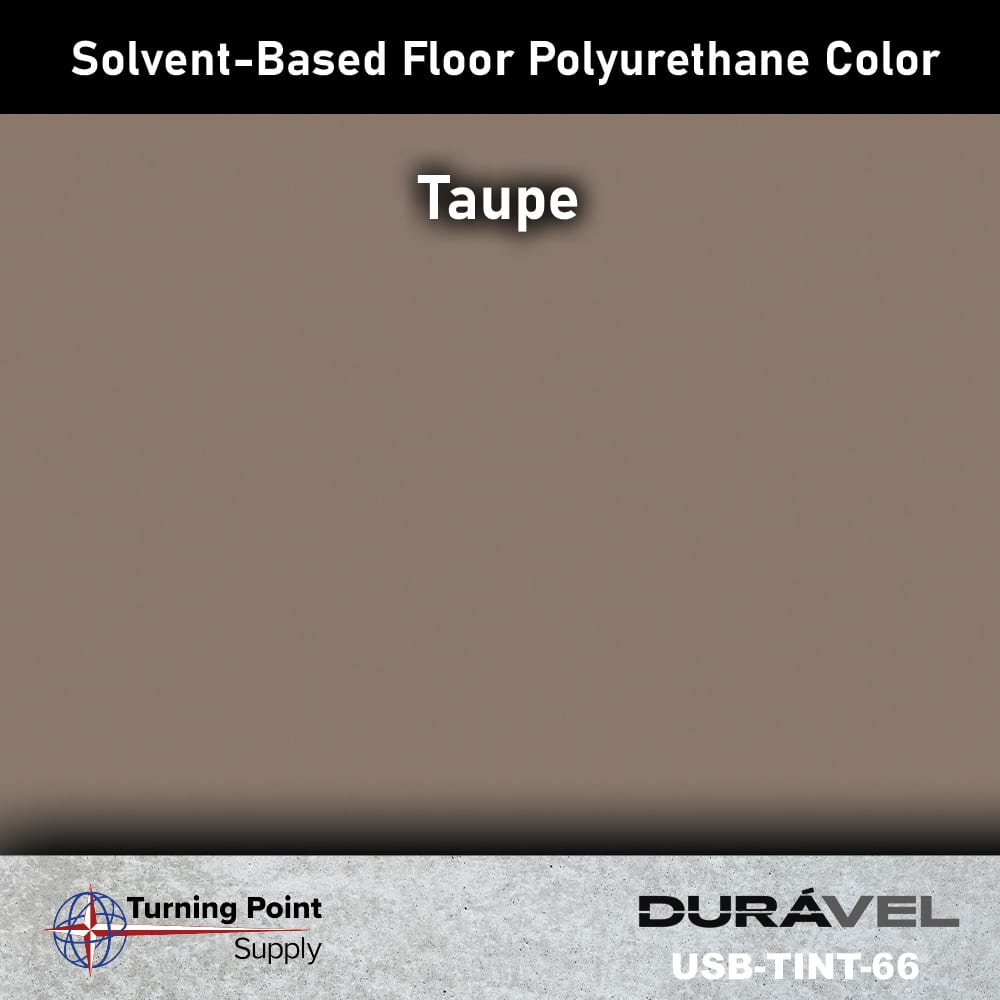 Taupe UV Stable Solvent-Based Floor Polyurethane Color Additive – USB-TINT by Duravel Products