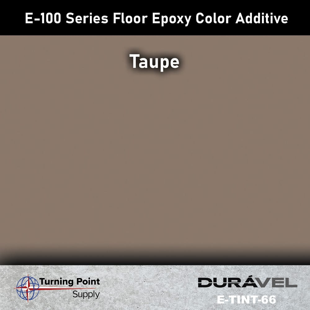 Taupe Floor Epoxy Color Additive Offered by Turning Point Supply