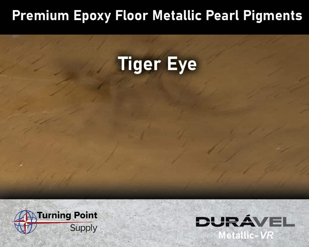 Tiger Eye Exclusive Epoxy Floor Metallic Mica Colors - Premium Pear Pigments 20 Options