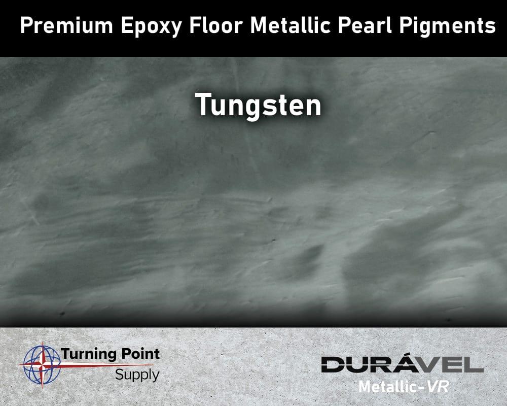 Tungsten Exclusive Epoxy Floor Metallic Mica Colors - Premium Pear Pigments 20 Options