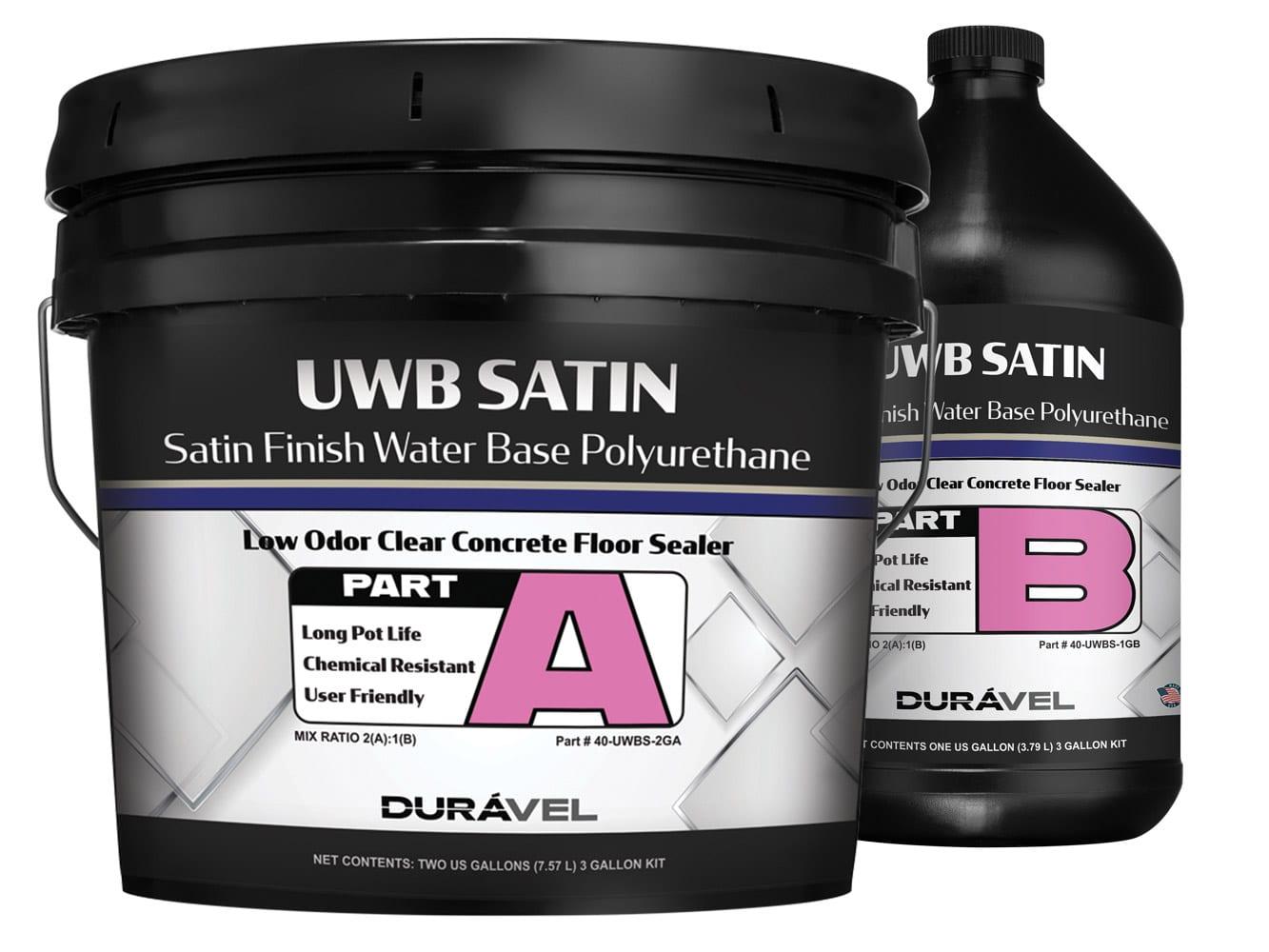 Satin Finish Water-Base Floor Polyurethane