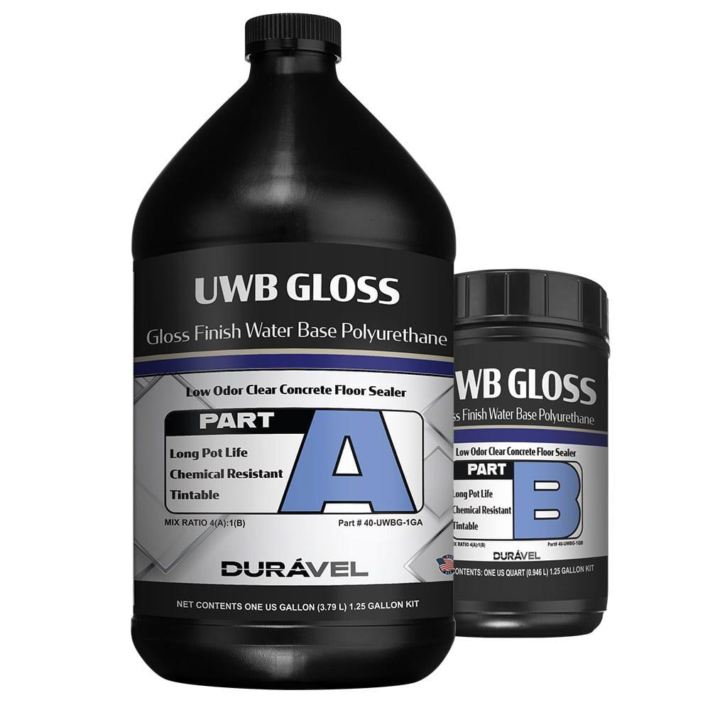Turning Point Supply - Gloss Finish Water Base Polyurethane UWB-Gloss 1.25 Gallon Kit