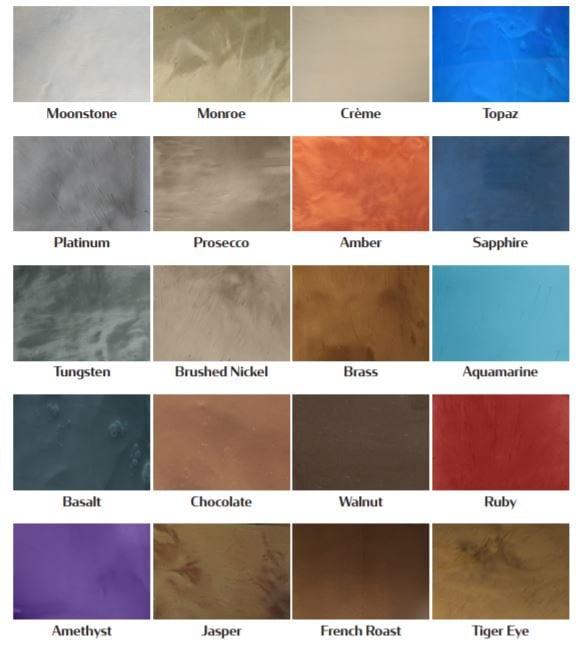 Turning Point Supply Metallic pigments for Epoxy Metallic Flooring