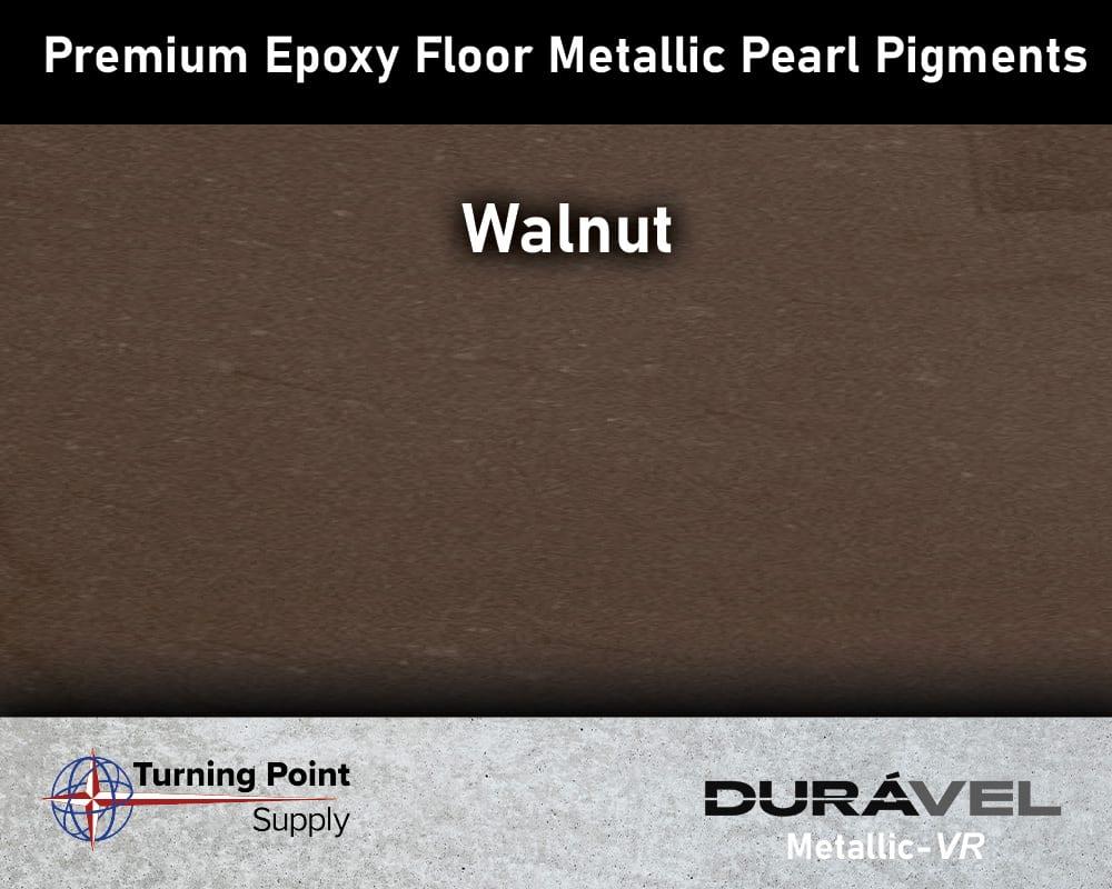 Walnut Exclusive Epoxy Floor Metallic Mica Colors - Premium Pear Pigments 20 Options