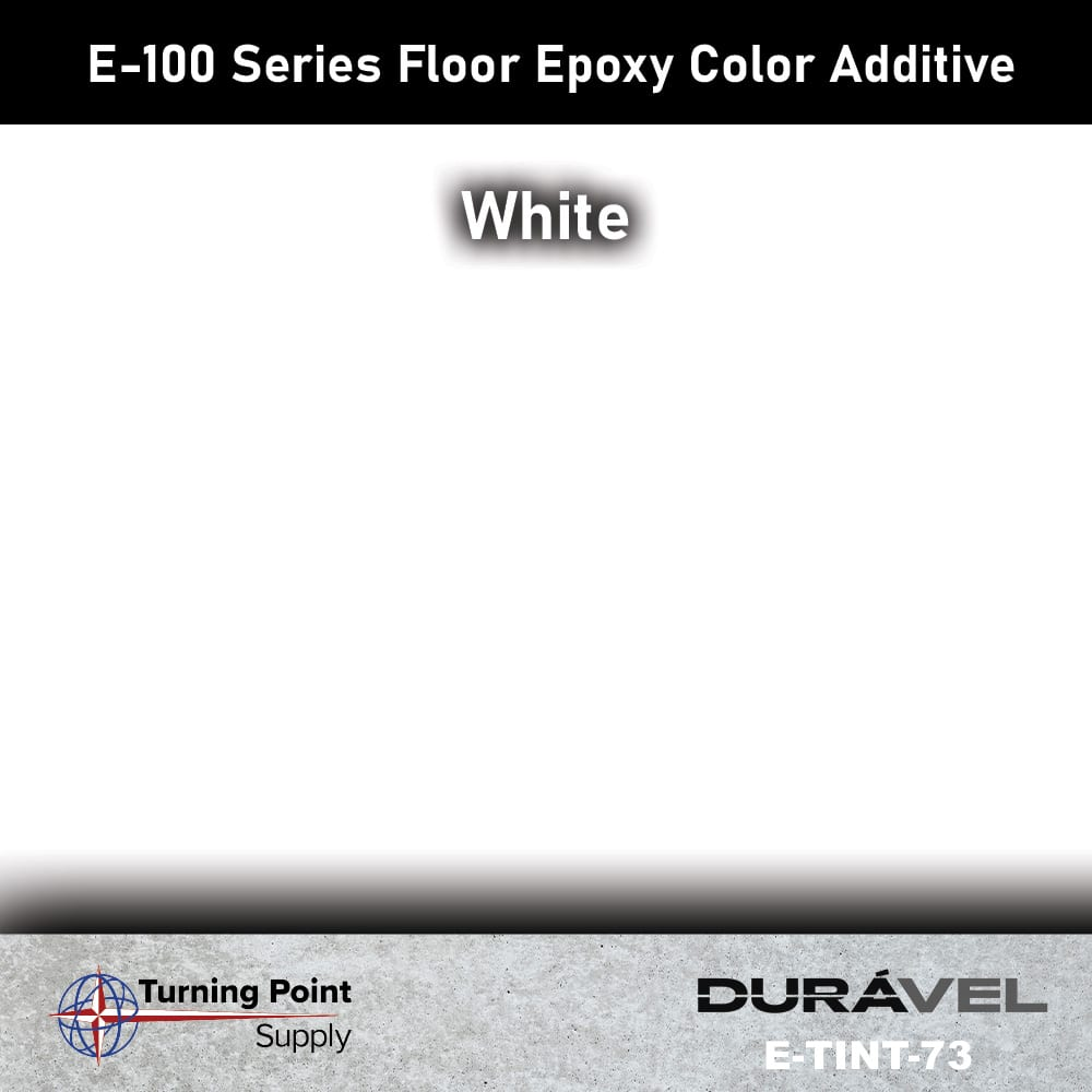 White Floor Epoxy Color Additive Offered by Turning Point Supply