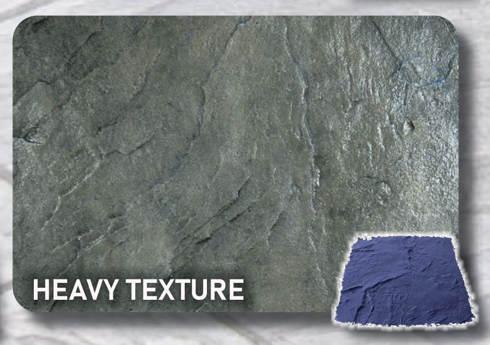 Heavy Texture Concrete-Stamp Skin Mat