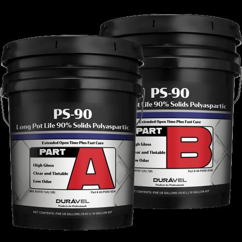 polyaspartic floor coating