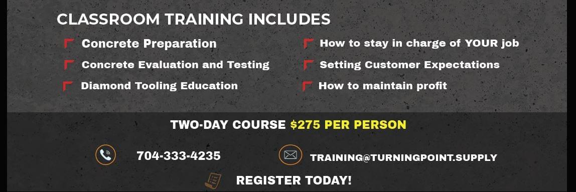 Epoxy Floor Training June 2-3 2021 Banner 3