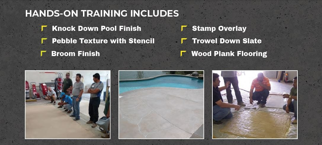 Training - Concrete overlay class may 5th and 6th 2021