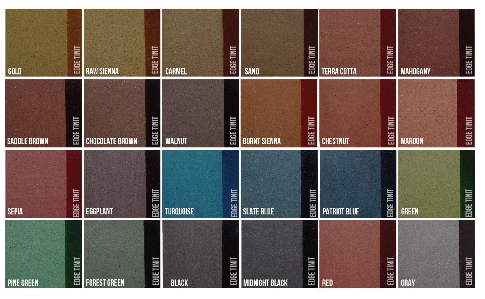 SureLock Colors - Standard Stock