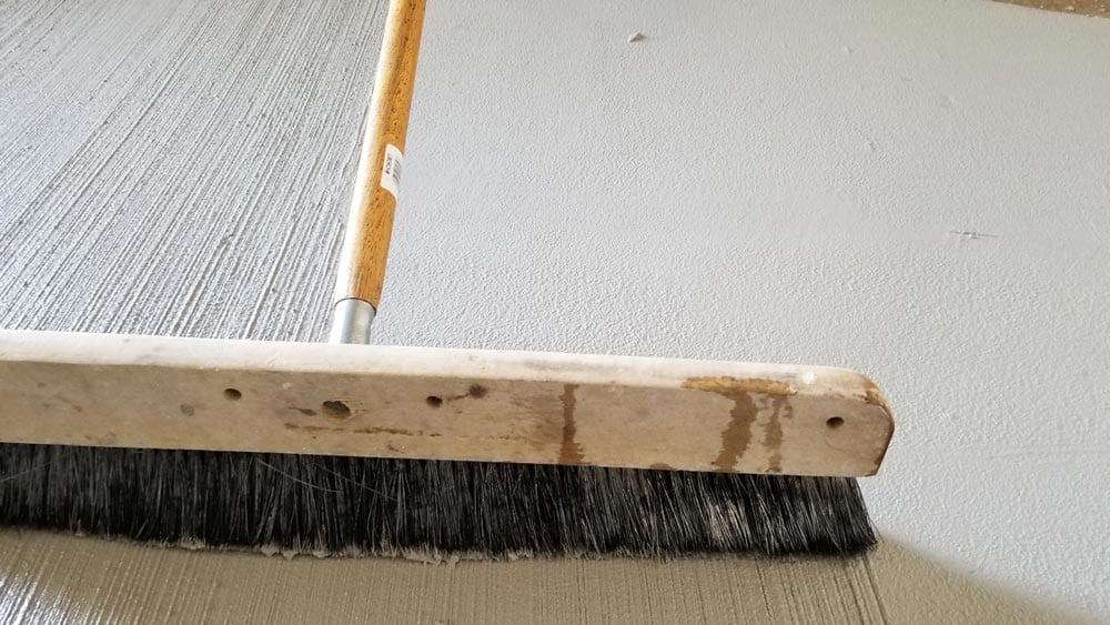 broom concrete overlay product