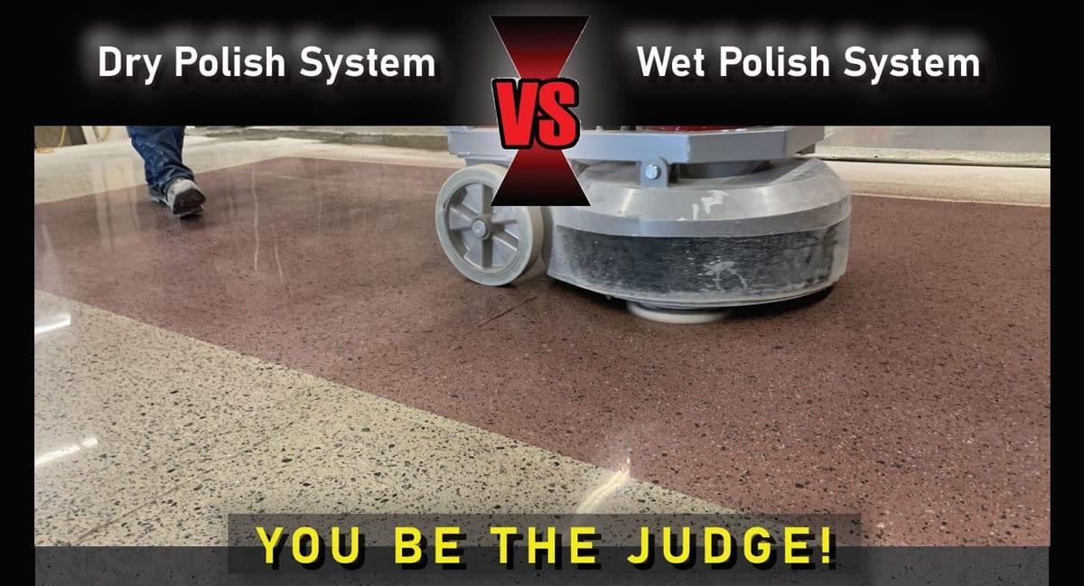 Wet and Dry Concrete Polishing Training