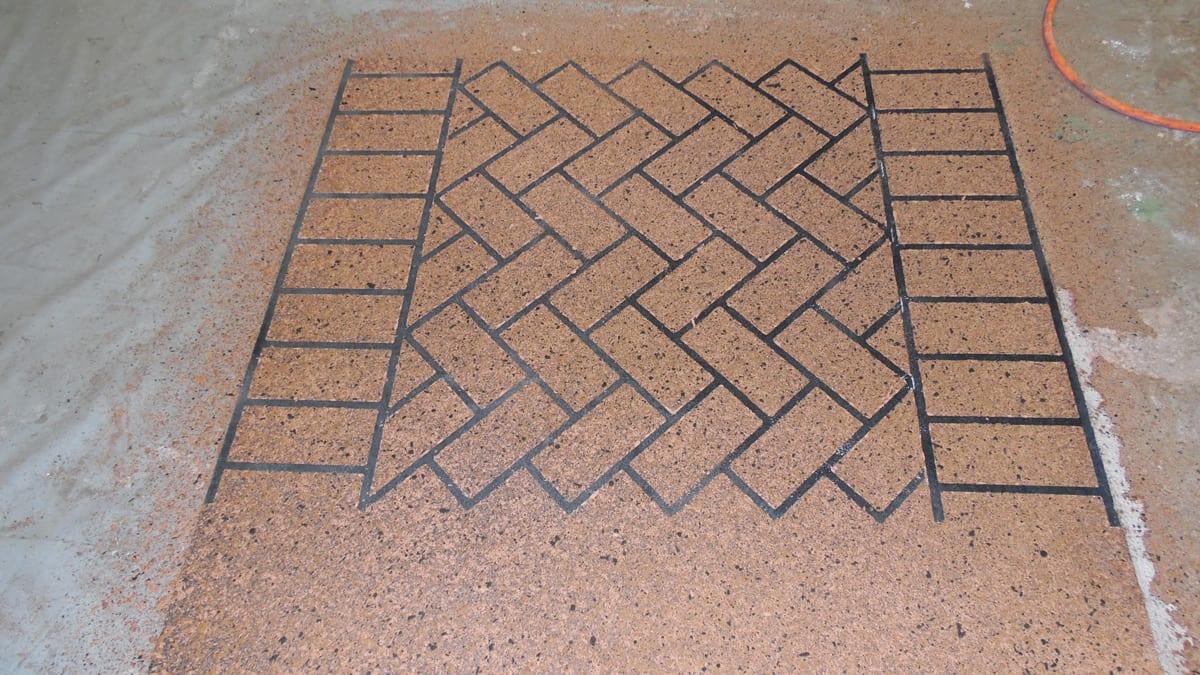 Brick Stencil Pattern