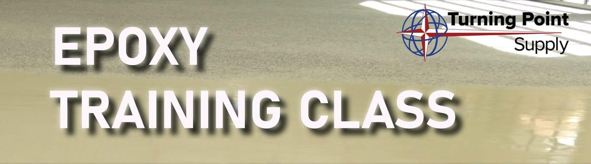 Epoxy Floor Training Class - Charlotte NC August 18-19-2021