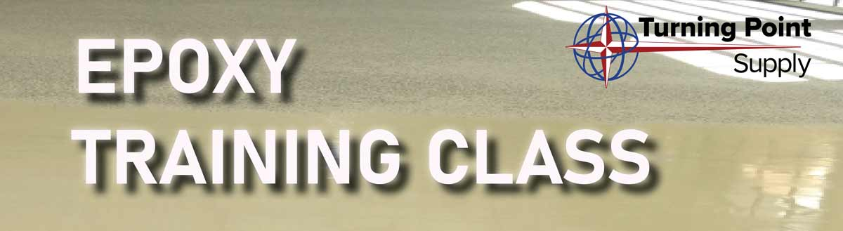 Epoxy Floor Training Class - September 22nd and 23rd 2021