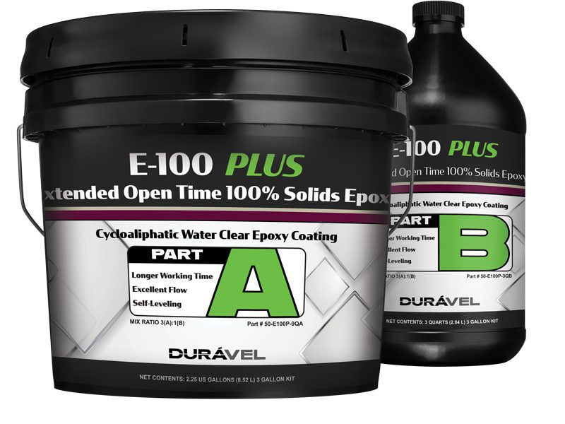 Extended Open Time 100% Solids Epoxy